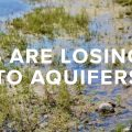 Rivers Losing Flow to Aquifers