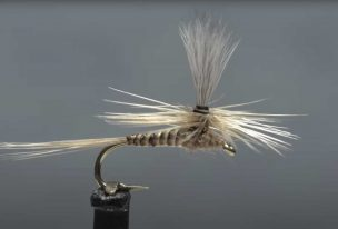 How to Tie a Blue Quill Parachute