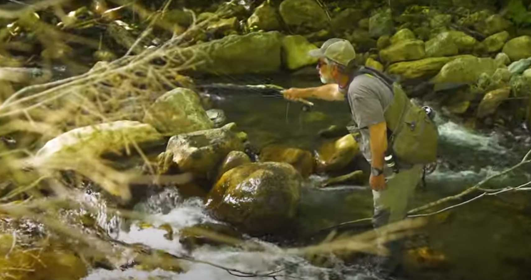 Small Stream Trout Fishing
