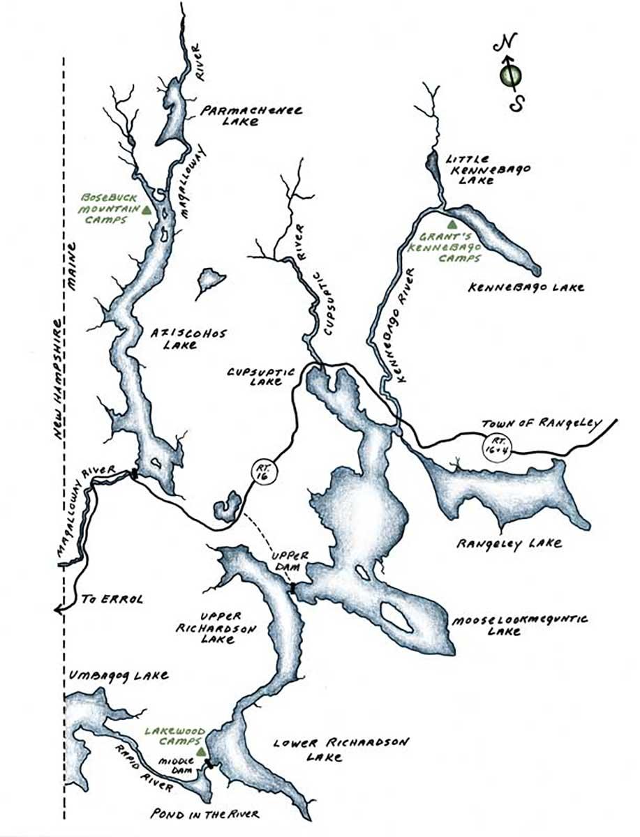 Maine Rangeley Lakes Region