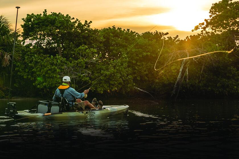 fly fishing kayaks