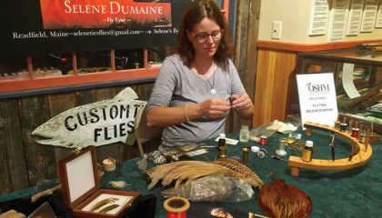 Women and the Art of Tying Flies: a Maine Sporting Tradition